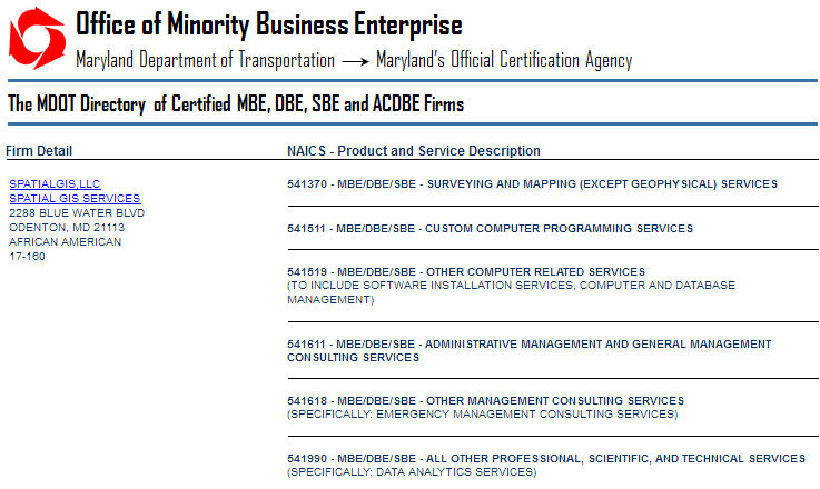 certifications screen capture