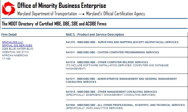 certifications screen capture